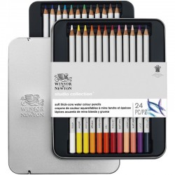 Set 24 Colores Acuarelables W&N