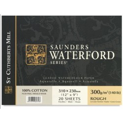 Saunders Waterford 300 gr. satinado.