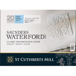Saunders Waterford blanqueado 300 gr. satinado.
