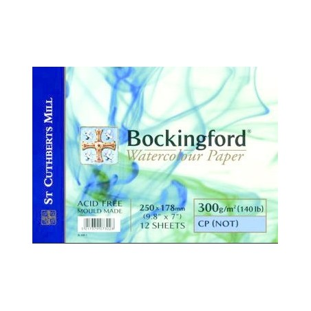 Bockingford 300 gr. espiral grano fino.