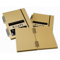 Kraft Paper Sketch Book Espiral