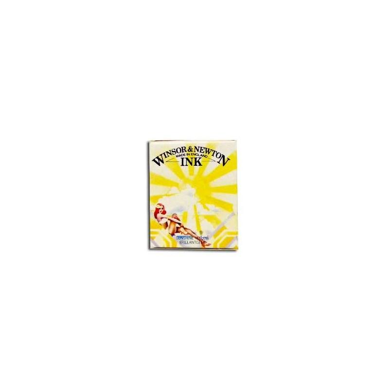 Tinta Winsor & Newton Amarillo Sol