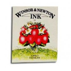 Tinta Winsor & Newton Escarlata